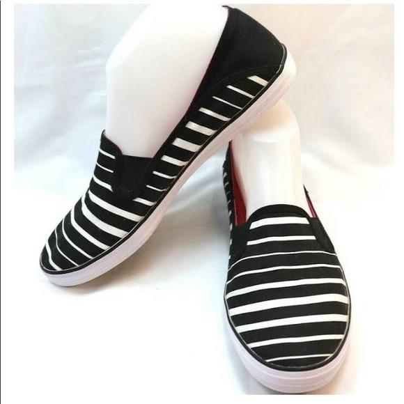 Keds stripes shoes size 10